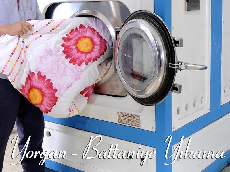 Yorgan Battaniye Yıkama